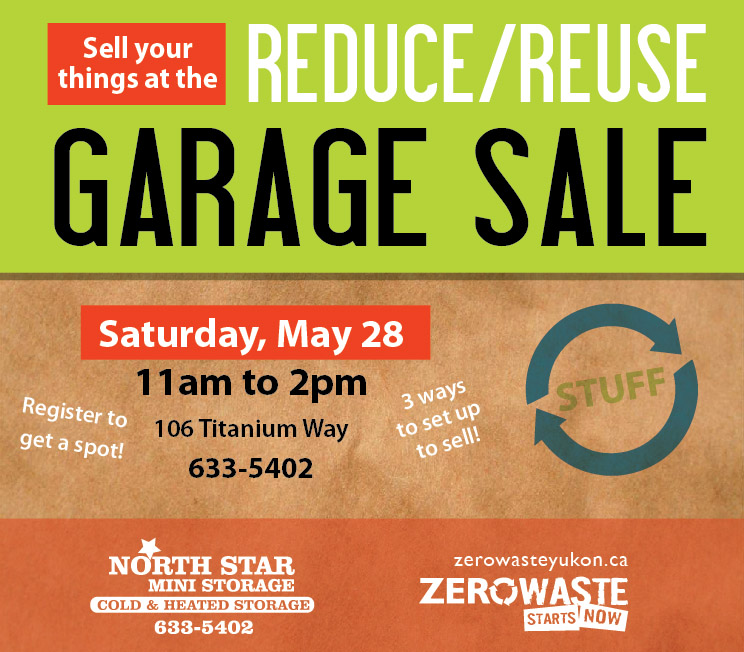 Community Garage Sales – beginning May 28th