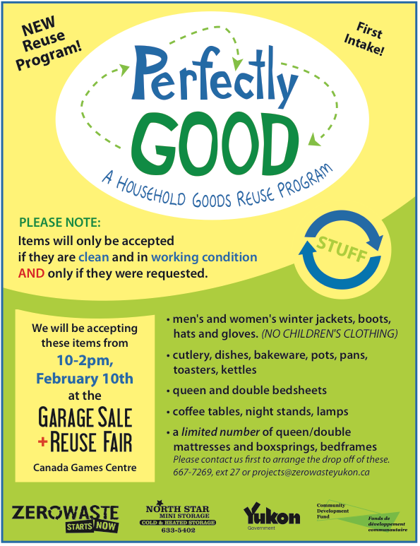 """Perfectly Good"" Program Launch at the 5th Annual Indoor Community Garage Sale"