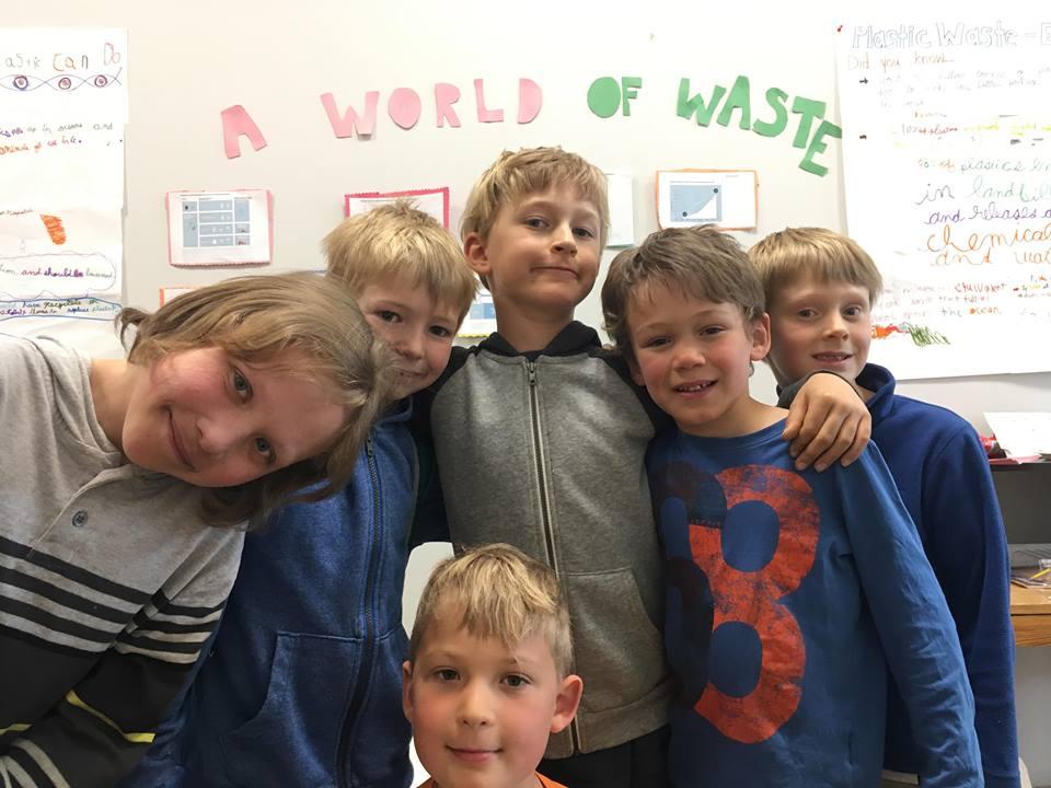 Yukon Montessori School Battles Plastic Pollution