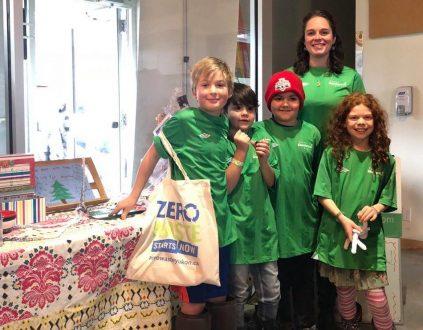 Yukon Montessori School at the re:design Craft Fair