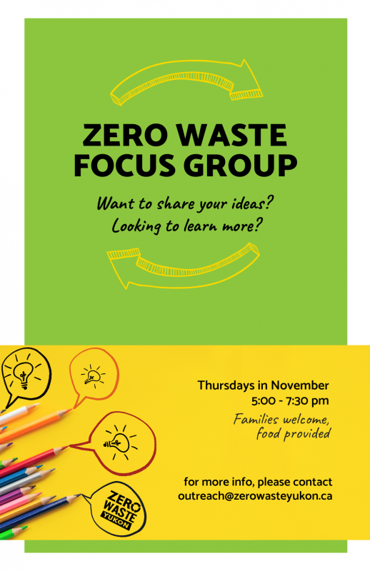Zero Waste Focus Group