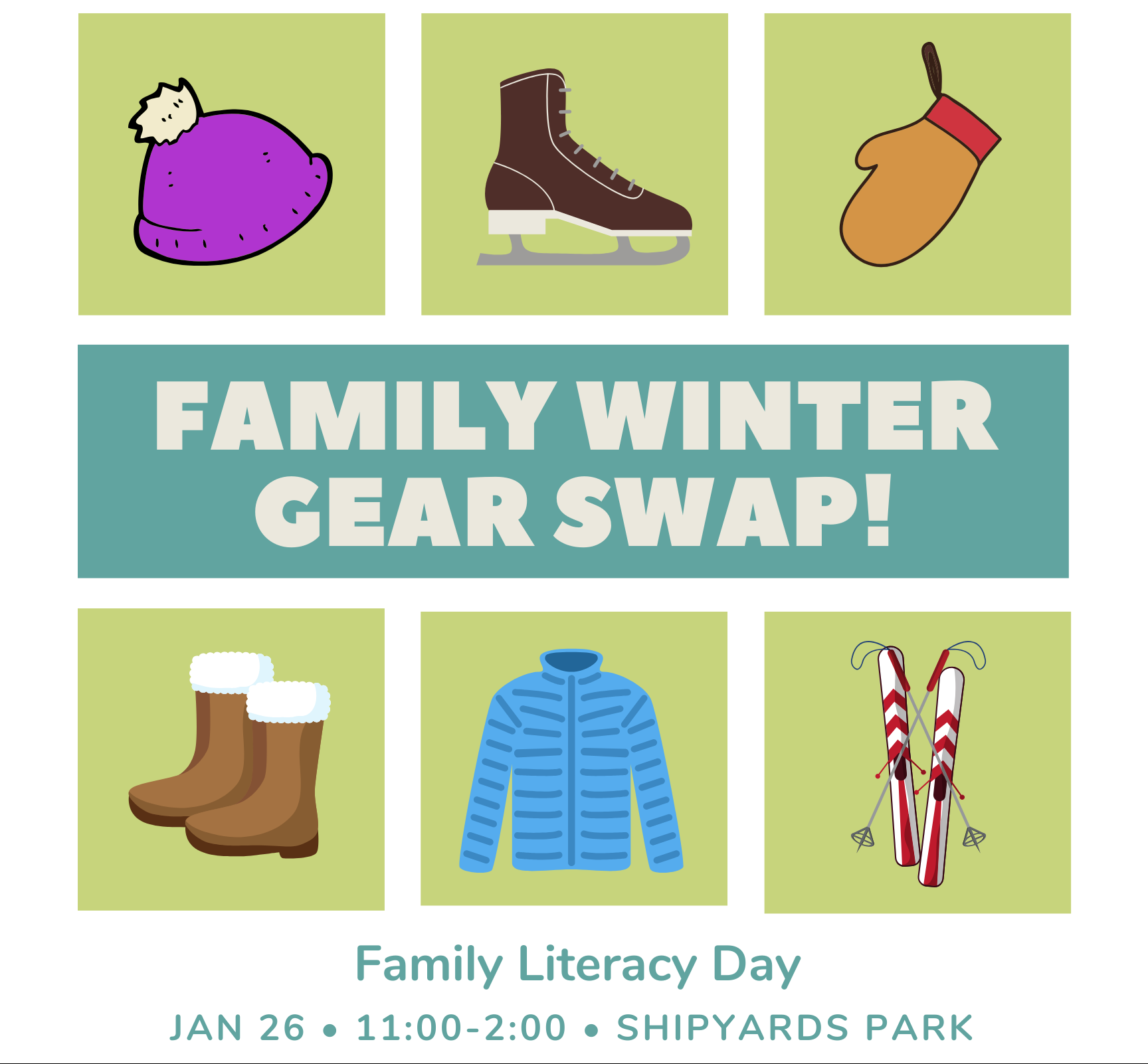 Family Winter Gear Swap!