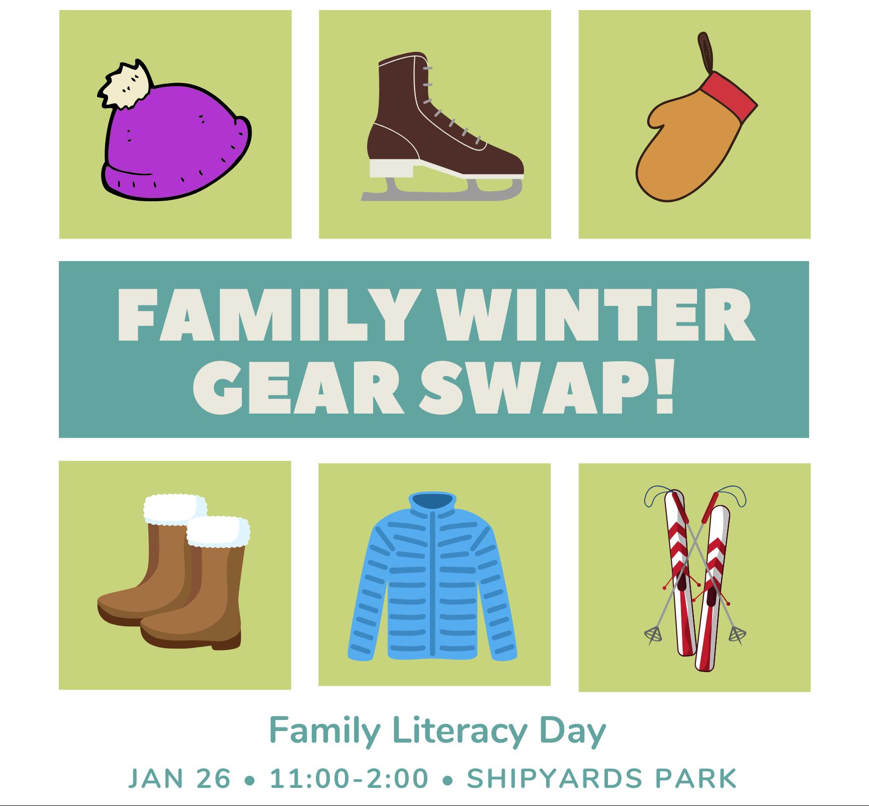 Family Winter Gear Swap!